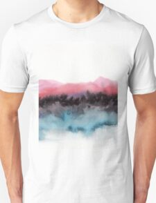 Watercolor abstract landscape 10 Unisex T-Shirt