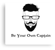 Be Your Own Captain Canvas Print