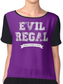 Once Upon a Time - Evil Regal Chiffon Top