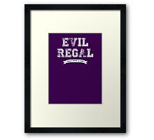 Once Upon a Time - Evil Regal Framed Print