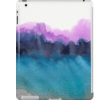 Watercolor abstract landscape 13 iPad Case/Skin