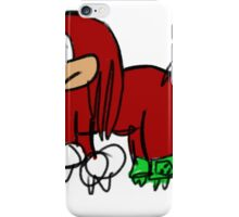 Knuckles The Echidna Elephant Edition iPhone Case/Skin