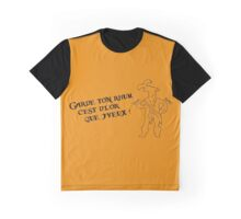 Garde ton rhum (inspiré par l'attraction Pirates de Caraïbes) Graphic T-Shirt