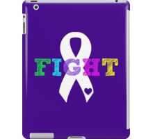 Fight Ribbon iPad Case/Skin