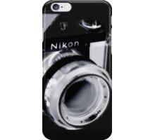 Nikon F SLR Camera iPhone Case/Skin