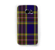 00432 Anthony Plaid Blue Tartan  Samsung Galaxy Case/Skin