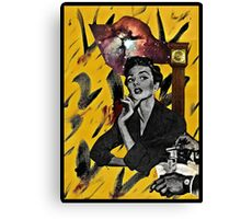 I know. I'll just travel back in time. Canvas Print