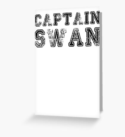 Once Upon a Time - Captain Swan Greeting Card