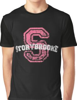 Storybrooke - Pink Graphic T-Shirt
