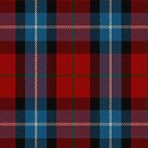 00441 Baillie of Polkemment Red Clan/Family Tartan by Detnecs2013