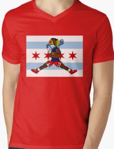 Chi Guy Mens V-Neck T-Shirt