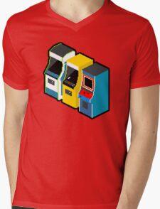 Arcade 80s Mens V-Neck T-Shirt