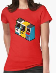 Arcade 80s Womens Fitted T-Shirt