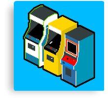 Arcade 80s Canvas Print