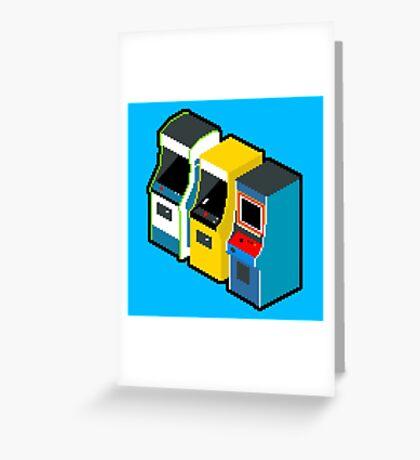 Arcade 80s Greeting Card