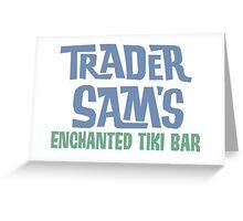 Tiki Bar Logo Greeting Card
