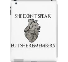 Lady Stoneheart, Game of Thrones iPad Case/Skin