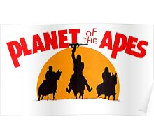 Planet of the Apes Retro Poster