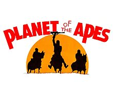 Planet of the Apes Retro Photographic Print