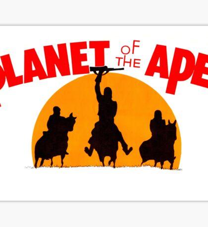 Planet of the Apes Retro Sticker