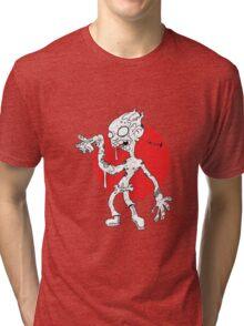 """GLUH"" said the zombie. Tri-blend T-Shirt"