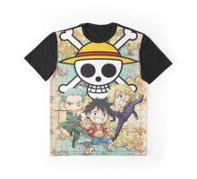 Monster Trio Chibi Graphic T-Shirt