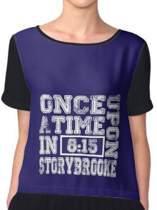 Once Upon a Time in Storybrooke Chiffon Top