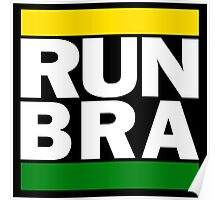 Brazil - RUN-DMC Style Design - Hip Hop Poster