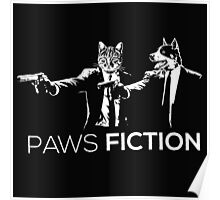 Paws Fiction Poster