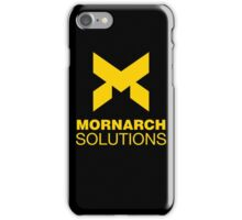 Monarch Solutions iPhone Case/Skin