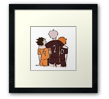 suga is hilarious Framed Print