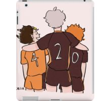 suga is hilarious iPad Case/Skin