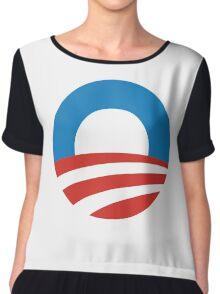 Obama Women's Chiffon Top