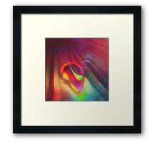 Dark Moves Of Love. Framed Print