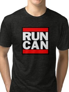Canada RUN-DMC Style Design - Hip Hop Tri-blend T-Shirt