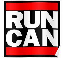 Canada RUN-DMC Style Design - Hip Hop Poster