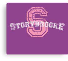 Storybrooke - Purple Canvas Print