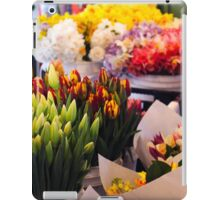 Flower Market Stall iPad Case/Skin