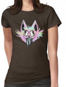 RAVE KITTY Womens Fitted T-Shirt