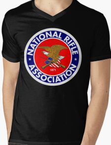 NRA - National Rifle Association Mens V-Neck T-Shirt
