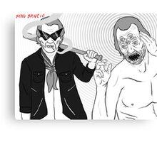 Steve Buscemi is beyond me.  Canvas Print