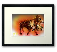 Born of Fire variant 1 Framed Print