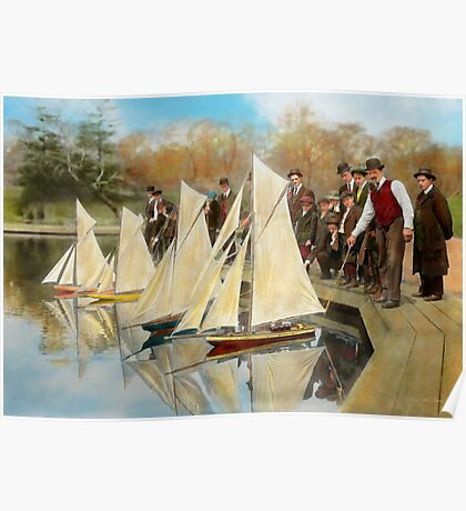 Boat - Sorry kids this ones mine 1910 Poster