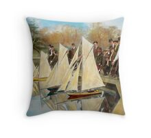Boat - Sorry kids this ones mine 1910 Throw Pillow