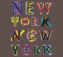 New York New York One Piece - Short Sleeve