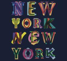 New York New York Kids Tee