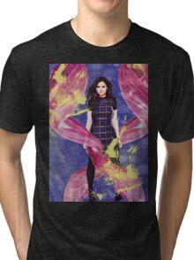 Clara Oswald Tri-blend T-Shirt