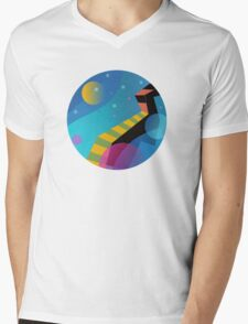 Stairway to Stars Mens V-Neck T-Shirt
