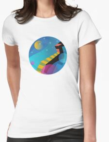 Stairway to Stars Womens Fitted T-Shirt
