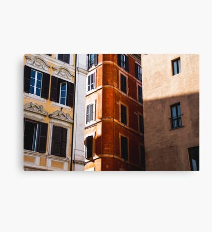 Window & Walls Canvas Print